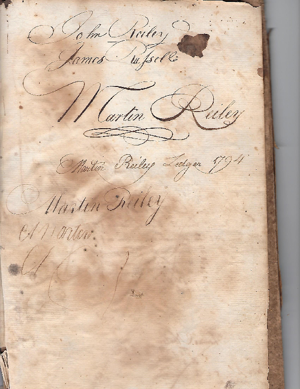 Reiley Ledger Cover